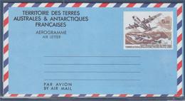Entier Aérogramme N°1 De 1993 Inauguration De La Piste De Terre Adélie Neuf, Livré Fermé Scan 1 - Entiers Postaux