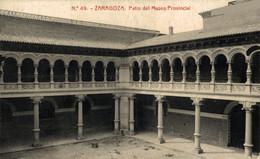 ZARAGOZA PATIO DEL MUSEO PROVINCIAL    ZARAGOZA ARAGON ESPAÑA ESPAGNE - Zaragoza