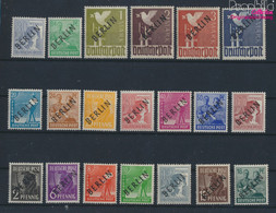 Berlin (West) 1-20 (kompl.Ausg.) Geprüft Mit Attest Postfrisch 1948 Schwarzaufdruck (9520306 - Neufs