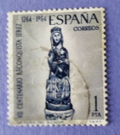 1964  - SPAGNA   - VALORE 50  Pta  - USATO - Usados
