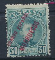 Spanische Post Marokko 12 Mit Falz 1906 Aufdruckausgabe (9527719 - Marocco Spagnolo