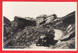 SWITZERLAND    HOSPICE DU GRAND BERNARD + CHARABANC   RP - VS Valais