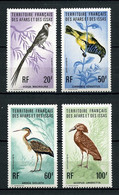 AFARS ET ISSAS 1975  N° 410/413 ** Neufs MNH Superbe C 34 €  Faune Oiseaux  Vidua Macroura Birds Animaux - Nuovi