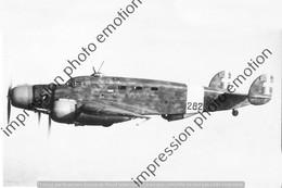 PHOTO AVION  RETIRAGE REPRINT     Savoia Marchetti SM - Aviation