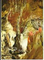 LES GROTTES DE SAINT CEZAIRE , Cascade Stalagmitique Dominant Le Gouffre ; The Stalagmitic Falles Towering The Abyss - Otros Municipios