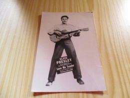 Carte Postale Elvis Presley - Love Me Tender. - Sänger Und Musikanten