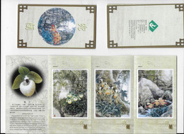 Chine  Carnet Sublime De 6 Orchidées émis Par Le Bureau Postal Du Yunnan 3 Sur 6 Scannées , Manque De Place ! - Orquideas
