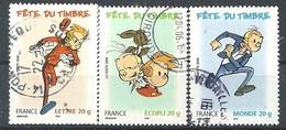 FRANCIA 2006 - YV 3877/79  - Cachet Rond - Non Classés