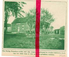 Orig. Knipsel Coupure Tijdschrift Magazine - Drongen - Het Heilig Huizeken - 1929 - Ohne Zuordnung