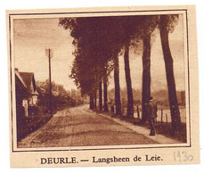 Orig. Knipsel Coupure Tijdschrift Magazine - Deurle - Langs De Leie - 1930 - Ohne Zuordnung