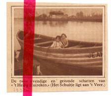 Orig. Knipsel Coupure Tijdschrift Magazine - Drongen - Aan 't Veer  Langs De Leie - 1930 - Ohne Zuordnung