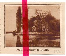 Orig. Knipsel Coupure Tijdschrift Magazine - Deurle - Leiegezicht - 1930 - Ohne Zuordnung