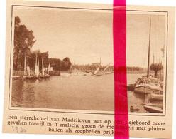 Orig. Knipsel Coupure Tijdschrift Magazine - Leiegezicht - 1930 - Ohne Zuordnung