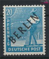 Berlin (West) 8 Postfrisch 1948 Schwarzaufdruck (9520054 - Neufs