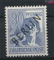 Berlin (West) 15 Postfrisch 1948 Schwarzaufdruck (9520058 - Neufs