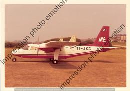 PHOTO AVION  RETIRAGE REPRINT      BRITTEN NORMAN BN 2A TI-AKC  AVE - Aviazione