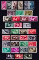 SAHARA ESPAGNOL (PROVINCE) - 1960/74 - YVERT 163/303 COMPLET * MLH - COTE = 123 EUR. - CHARNIERE TRES LEGERE - 4 PAGES ! - Sahara Spagnolo