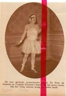 Orig. Knipsel Coupure Tijdschrift Magazine - Gent - Toneel Akteur Edgar De Pont Als Ballerina - 1930 - Ohne Zuordnung