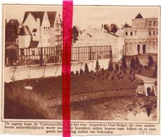 Orig. Knipsel Coupure Tijdschrift Magazine - Antwerpen - Ingang Tentoonstelling Oud België - 1930 - Ohne Zuordnung