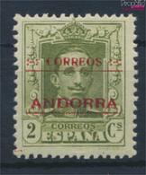 Andorra - Spanische Post 1B Postfrisch 1928 Alfons (9527615 - Ongebruikt
