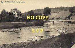00859 REMOUCHAMPS // PONT DE SOUGNE // NON ECRITE // DOS DIVISE - Aywaille