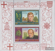 Ascension Block7 (complete Issue) Unmounted Mint / Never Hinged 1974 Churchill - Ascension