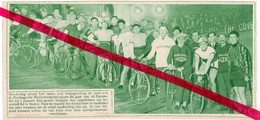 Orig. Knipsel Coupure Tijdschrift Magazine - Antwerpen  - Koers Wielrennen 6 Daagse - 1929 - Ohne Zuordnung