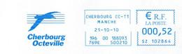 EMA Mairie Manche Cherbourg Octeville Oiseau Mouette - EMA (Printer Machine)