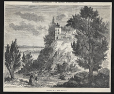 1861  --  SUISSE . LE CHATEAU D ARENEMBERG . 3U482 - Ohne Zuordnung