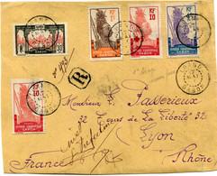 A. E. F. DEVANT DE LETTRE RECOMMANDEE DEPART LOANGO 17 MAI ? GABON POUR LA FRANCE - Covers & Documents