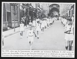 2007  - MEHUN SUR YEVRES 1957 CHAMPIONNAT DE GYMNASTIQUE LA VIERZONNAISE . 3U485 - Ohne Zuordnung