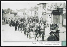 2004  --  CREPY EN VALOIS . 1944 . CEREMONIE AU MONUMENT AUX MORTS . 3U489 - Ohne Zuordnung