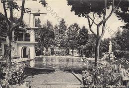 CARTOLINA SALSOMAGGIORE, PARMA EMILIA ROMAGNA,PISCINA-POGGIO DIANA ,TERME,TURISMO, VIAGGIATA 1956 - Parma