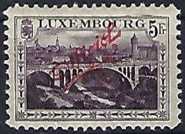 Luxembourg-Luxemburg - Timbres  1922   Pont Adolphe  OFFICIEL  5 Fr. MNH**  11  1/2d - Blocks & Sheetlets & Panes