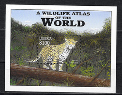 LIBERIA Nº HB 394 - Raubkatzen