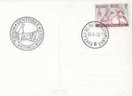 Gentinnes Memorial Victimes Kongolo / Bureau De Poste Automobile - Lettres & Documents