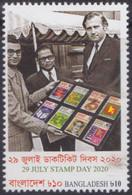 Bangladesh (2020) - Set -   /  Stamp On Stamp - Timbre Sur Timbre - Sello Sobre Sello - Stamps On Stamps