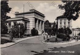 CARTOLINA SALSOMAGGIORE, PARMA EMILIA ROMAGNA,POSTE E TELEGRAFO, STORIA, CULTURA, RELIGIONE, VIAGGIATA 1954 - Parma