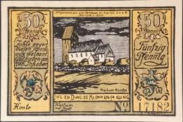 Sza.20 - Germany 1922 Notgeld Banknote 50 Pfennig Keitum Grabowski/Mehl 684.1b-1/3 UNC - [11] Local Banknote Issues