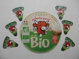 Etiquettes De Fromage LA VACHE QUI RIT BIO - Lot Collection - Formaggio