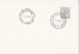 Louveigne - Banneux-notre-Dame / Bureau De Poste Automobile 1963 - Lettres & Documents