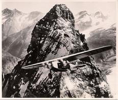 Aviation - Avion Fokker F-7b 300 - Ad Astra Devant Le Cervin - Aviación