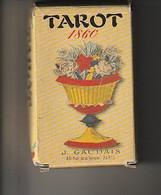 Jeux De TAROT 1860 J. Gaudais 78 Cartes  - Reproduction Par J.Gaudais - Tarots
