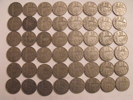 France. Lot De 48 Pièces De 25 Centimes. 1904/1905. - F. 25 Centimes