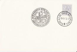 Banneux Notre-Dame Fête De St Michel - Michaelstag  / Bureau De Poste Automobile 1963 - Lettres & Documents