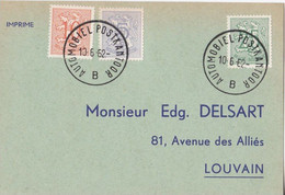 Cortège St François à St Trond - Automobiel Postkantoor 1962 - Lettres & Documents