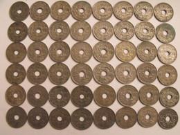 France. Lot De 48 Pièces De 25 Centimes. 1914/1940. - F. 25 Centimes