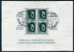 Deutsches Reich - Michel Block 11 SoStpl - Blocks & Sheetlets