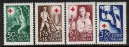1941 Finland Red Cross, Reconstruction, Complete Set MNH. - Neufs