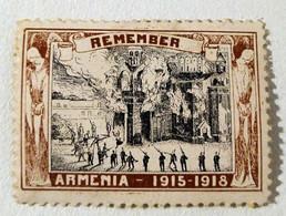 Erinnophilie Vignette Armenie Remember Armenia 1915 1918 - Militair